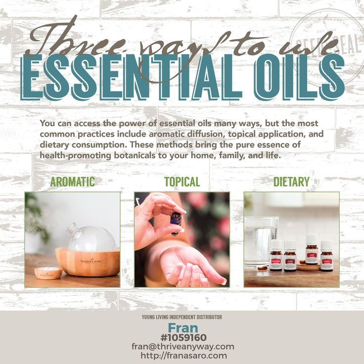 3 ways to use Essential Oils - Check out our Essential Oils of the Ancient Scriptures by Young Living. Check our all of our Oils from the bible