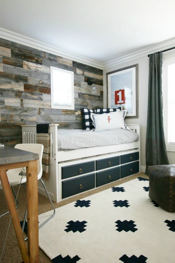 traditional rustic boys bedroom design by a thoughtful place via - Boy Bedroom Design