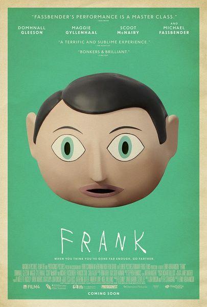 Frank 2014-10-09 ★★★ 包著滑稽的外衣實則心酸的電影