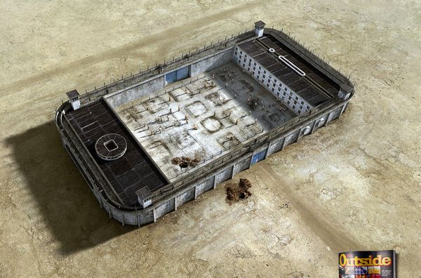 Feel trapped by technology? In a print campaign for Go Outside magazine, Brazilian designer Felipe Luchi imagined our beloved gadgets as physical prisons