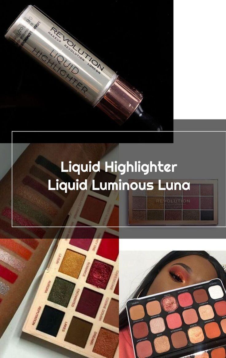 Makeup Revolution Liquid Luminous Luna Liquid Highlighter