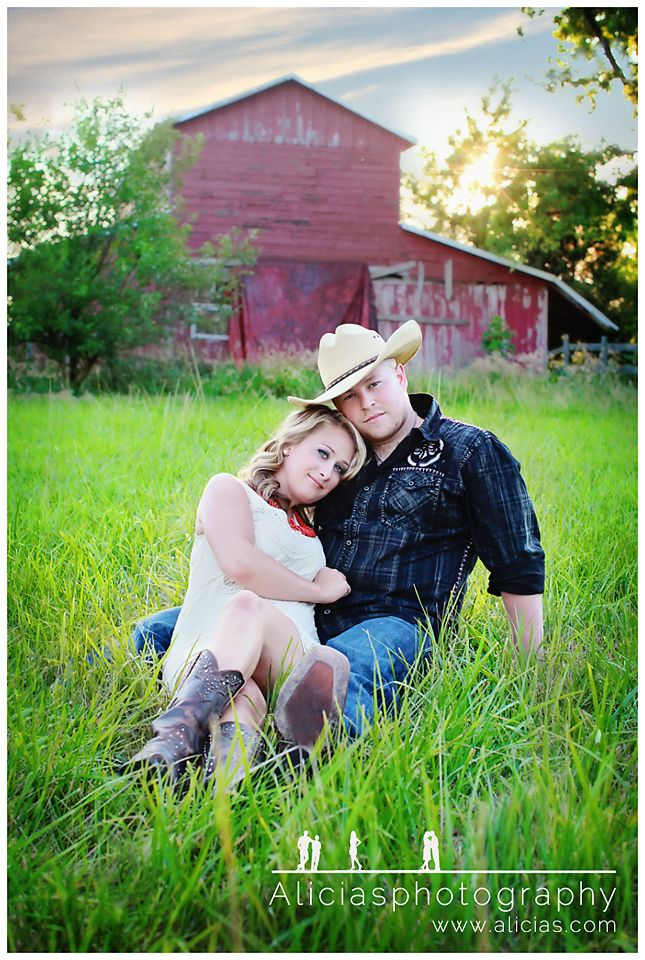 Country-Themed Engagement Session
