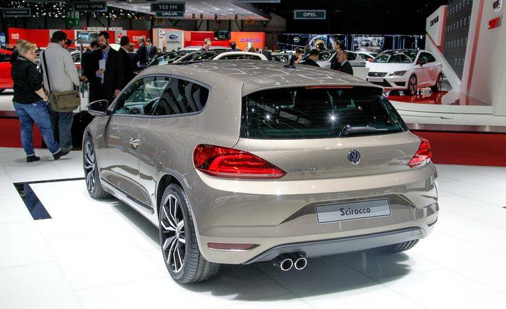 Volkswagen Scirocco 2014    face lift    Geneva