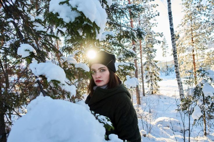 winter frost coat maje//hat COS