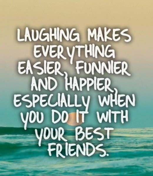 Laughing makes every thing