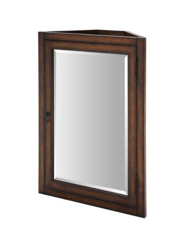 Xylem Mc Carlton 24bn 24 Inch Carlton Medicine Cabinet For Corner Vanity Antique Maple By Xylem