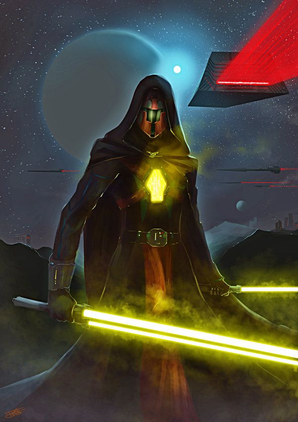 A Sith warrior created by me. I used Photoshop and also the Manga Studio. I was very inspired by the games that tell the story of the Old Republic. I hope you enjoy and share! Thank you! ^-^/ My pa...