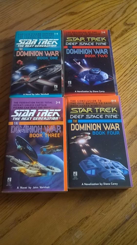 96 best books images on pinterest books to read reading lists star trek the dominion war complete series 4 books first fandeluxe Document