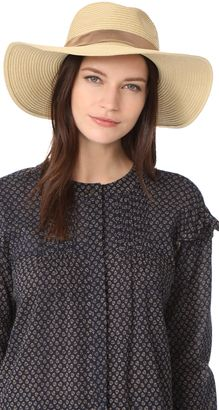 0030a41c4b36a Madewell Stitched Packable Straw Hat  hat  womens