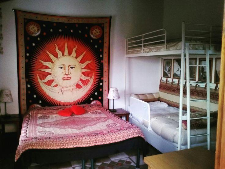Accogliente camera familiare, cozy family room
