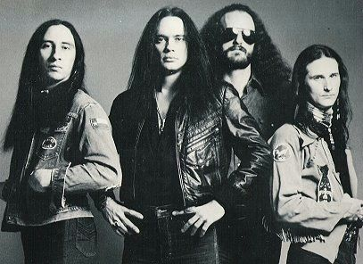 Blackfoot Band Official Website | The classic all original line-up, left to right; Jakson Spires, Rickey ...