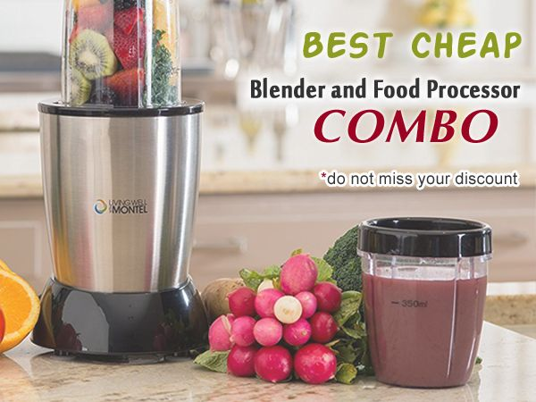 Using the list below, you can decide, what is the best blender food processor combo right for you. Then you can find the short characteristics of each product, its pros and cons and а helpful buyer's guide to assist you with your selection. #blenderfoodprocessor #blendercombo #blender2in1
