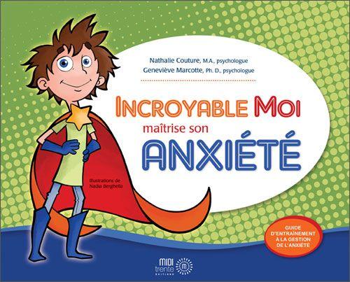Livre et outil très facile à utiliser avec les enfants souffrant d'anxiété.