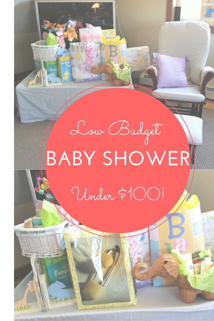 Baby Shower On A Budget Ideas ~ Homemade baby shower decorations for a girl simple find