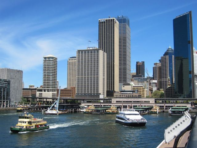 Circular Quay, Sydney skyline | Sydney - City and Suburbs | Bloglovin'