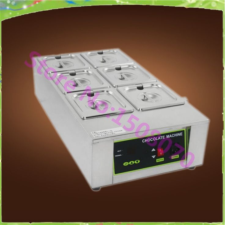 520.00$  Watch here - http://alijaq.worldwells.pw/go.php?t=32754818020 - big sale High quality 12 kg six tanks commercial electric chocolate melting pot small chocolate melting machine price 520.00$
