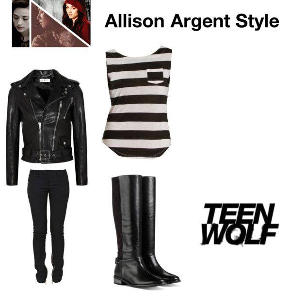 Allison Argent style TEEN WOLF