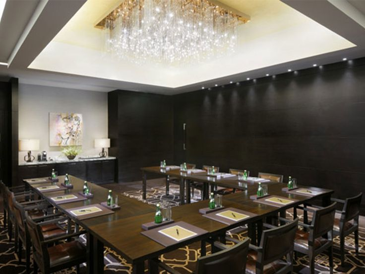 Modern Meeting Room Decor at Luxury Architecture Hotel Ideas