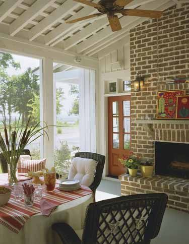 Cottage Of The Year from The Southern Living (HWBDO55448) | Cottage House Plan from BuilderHousePlans.com