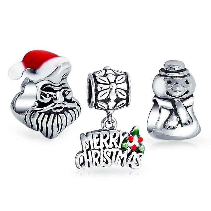 Discount Pandora Christmas Charm FESTIVE FROSTY Outlet Sale