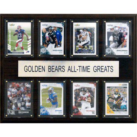C Collectables Ncaa Football 12x15 California Golden Bears All-Time Greats Plaque