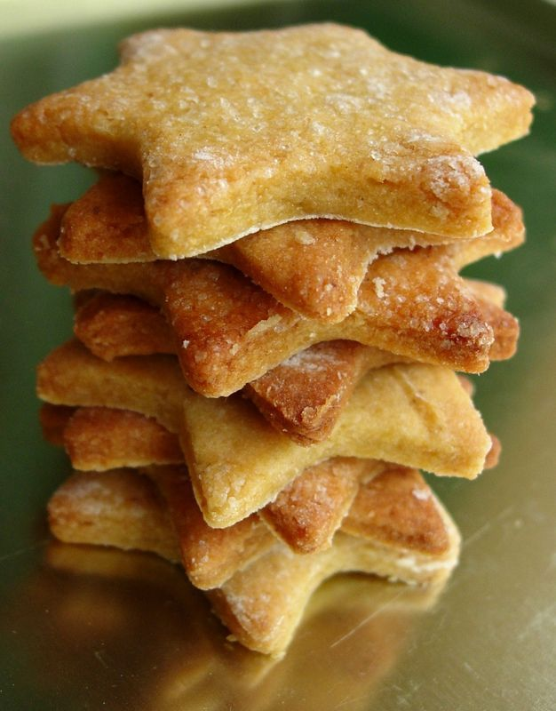 Biscuits sucrés à la farine de pois chiches