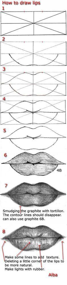 Drawing Mermaid Scales Tutorial by *MayumiOgihara...