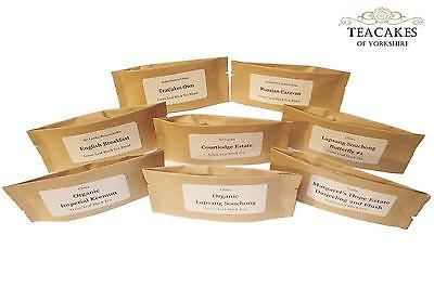 8 x 10g Black Loose Leaf Tea Samples Best Value Quality