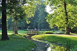 Lužánky (původně Augarten; v hantecu Augec) jsou nejvýznamnějším brněnským městským parkem. Park se nachází v městské části Brno-střed, jeho rozloha činí přibližně 22 hektarů. Jde o nejstarší pro veřejnost otevřený městský park v ČR, prohlášený též za kulturní památku České republiky. První zmínky o Lužánkách pocházejí ze 13. stolet. V 16. století přebírají klášter i dvorec jezuité, kteří zde v 18. století budují kapli a okrasnou zahradu pro meditace, duševní činnost a odpočinek.