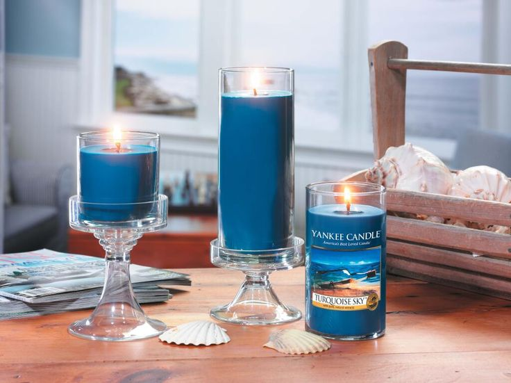 Fragrance Of the Monthe Sale 20% Turquoise Sky Candle Promotion of April 2015 From 1-30 April 2015@Rain Hill Shop Only