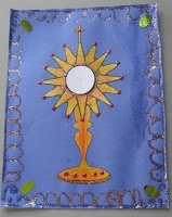 17 best images about first communion banner ideas on for First communion craft ideas