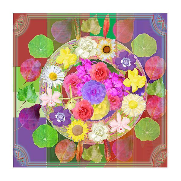 Flower Disc Rose Flower Petal Art Texture N Color Tones Navinjoshi Rights Managed Images Graphic De