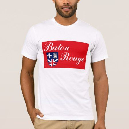 Baton Rouge Flag T-shirt - click to get yours right now!