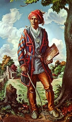 "Sequoyah ~ The Cherokee Genius (there were a significant number of ""Cherokee geniuses"", in fact)"