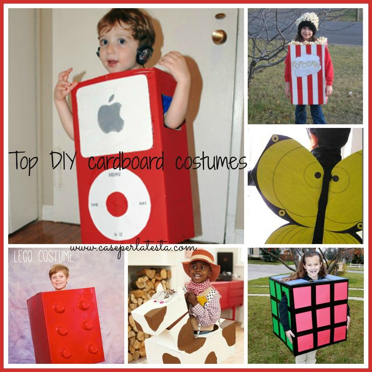 E' Carnevale!!!! Avete già preparato i costumi per i vostri bimbi? No?!?! Ecco qualche idea divertente e carina per realizzare, velocemente e a basso ...
