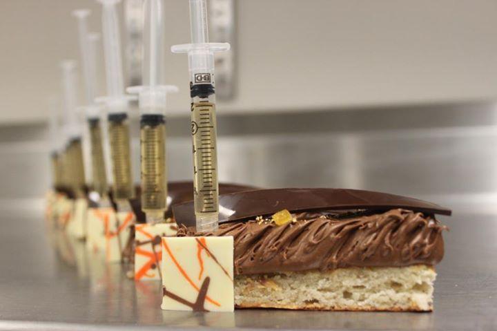 Une belle preuve de la créativité de l'équipe... pour un événement avec des médecins, dentistes ou un congrès d'infirmières ! www.legeorge-v.com