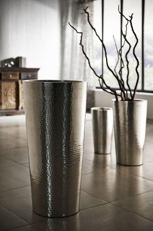 die besten 25 vase silber ideen auf pinterest silber deko silber dekoration weihnachten und. Black Bedroom Furniture Sets. Home Design Ideas