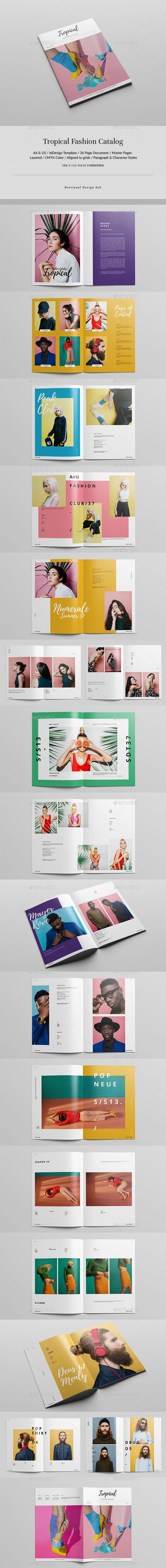 172 best lookbook templates images on pinterest