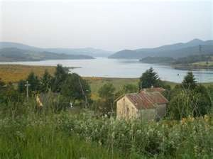 Lake at la Sila, Calabria, Italy...my father helped to build 3 man made lakes there.