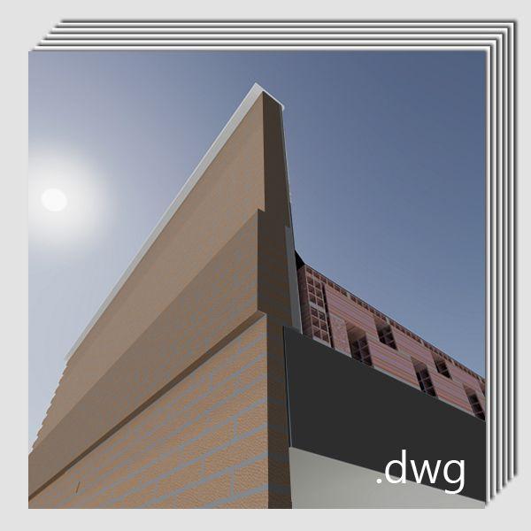 Pack detalles constructivos .dwg y .pdf: Reparación y rehabilitación de antepechos y pretiles.