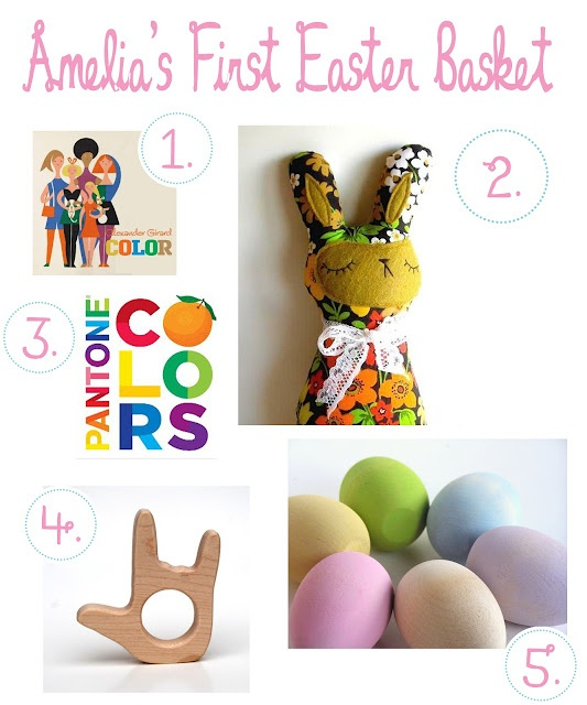 Baby's First Easter Basket Ideas – little love