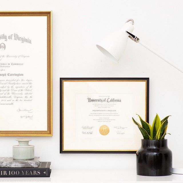 Get your diploma out of your trunk and onto your wall! Now's the time! #framebridge by framebridge