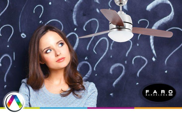 Preguntas frecuentes lámpara ventilador - La Casa de la Lámpara