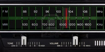 Black Vintage Radio Tuner Closeup With Tone And Volume Control Royalty Free Stock Photo, Pictures, Images And Stock Photography. Image 5998201.
