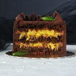 Шоколадно-апельсиновый торт | HomeBaked