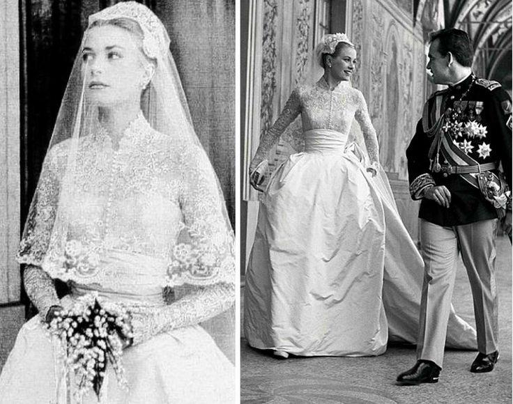 Confira uma seleção de vestidos de noivas que ficarão na história. Começamos com Lady Di que se casou com o príncipe Charles em 1981 em um modelito retumbante.