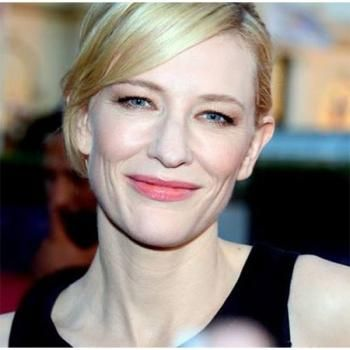 Actress Cate Blanchett, one of the 50 Most Powerful Moms ... Cate Blanchett Magazine