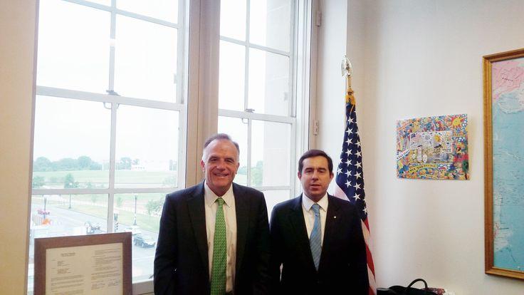 Συνάντηση με τον Υφυπουργό Εξωτερικού Εμπορίου, κ. Matthew Murray - http://goo.gl/zZp1je