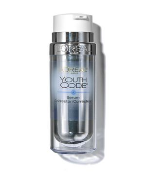 L'Oréal Paris Youth Code Dark Spot Correcting & Illuminating Serum Corrector  The gentle, lightweight formula goes on smoothly, with no greasy feeling.    To buy: $25 at drugstores.