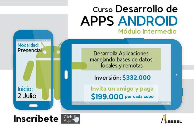 Curso desarrollo de aplicaciones móviles Android – intermedio